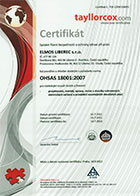 OHSAS 18001 - Health and Safety Management System
