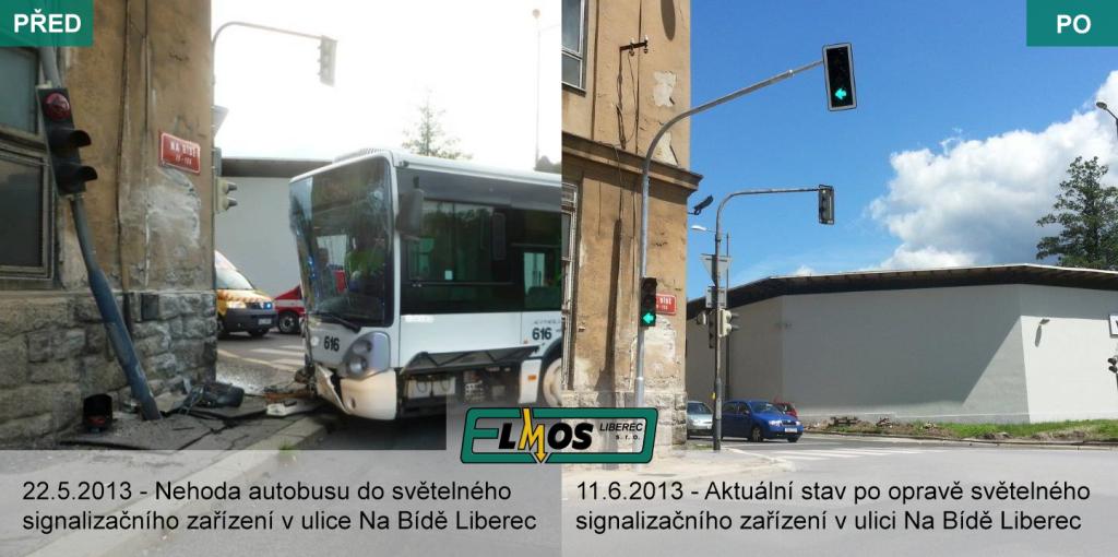 Nehoda autobusu Na Bídě, Liberec