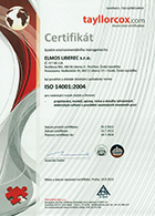 ISO 14001 - Environmental Management System
