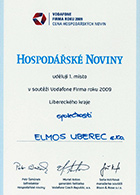 Company of the Year Awards 2009 Liberec Region